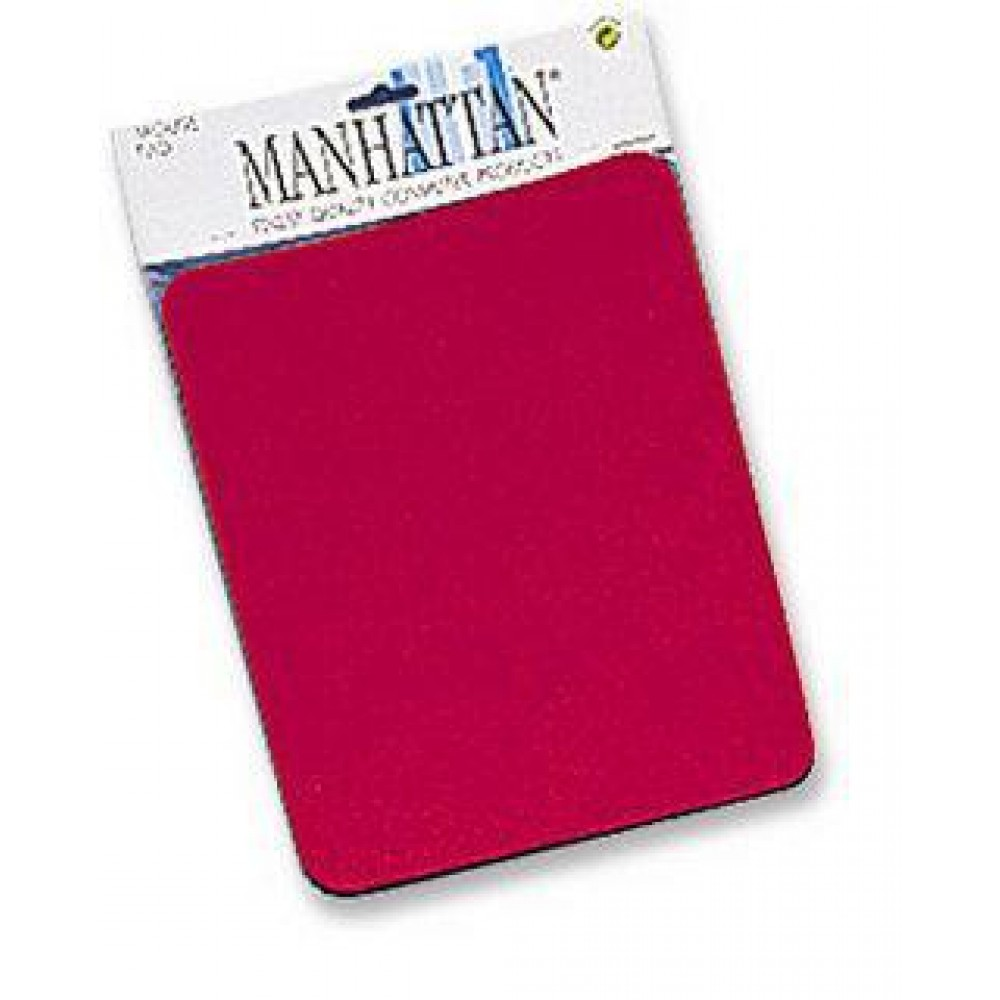 Tappetini Manhattan per Mouse, 6 mm, Rosso - Manhattan - ICA-MP 11-RE-1