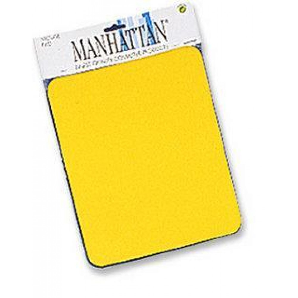 "Tappetini per Mouse, 6 mm Manhattan Tappetino giallo, 6 mm ""Confezione Manhattan"" - Manhattan - ICA-MP 11-YELL-1"