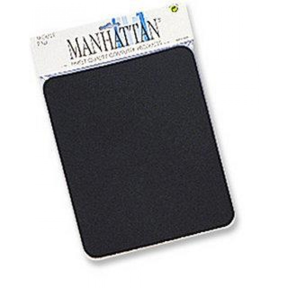 Tappetino Manhattan per Mouse, 6 mm, Nero - Manhattan - ICA-MP 11-BLAC-1