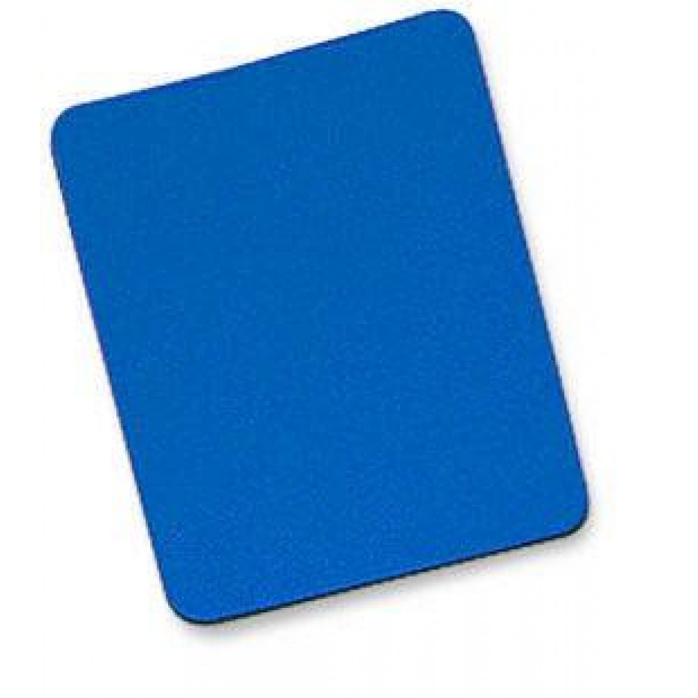 Tappetino per Mouse, 6 mm, Bulk, 25x22 cm, Blu - Manhattan - ICA-MP 10-BLUE-1