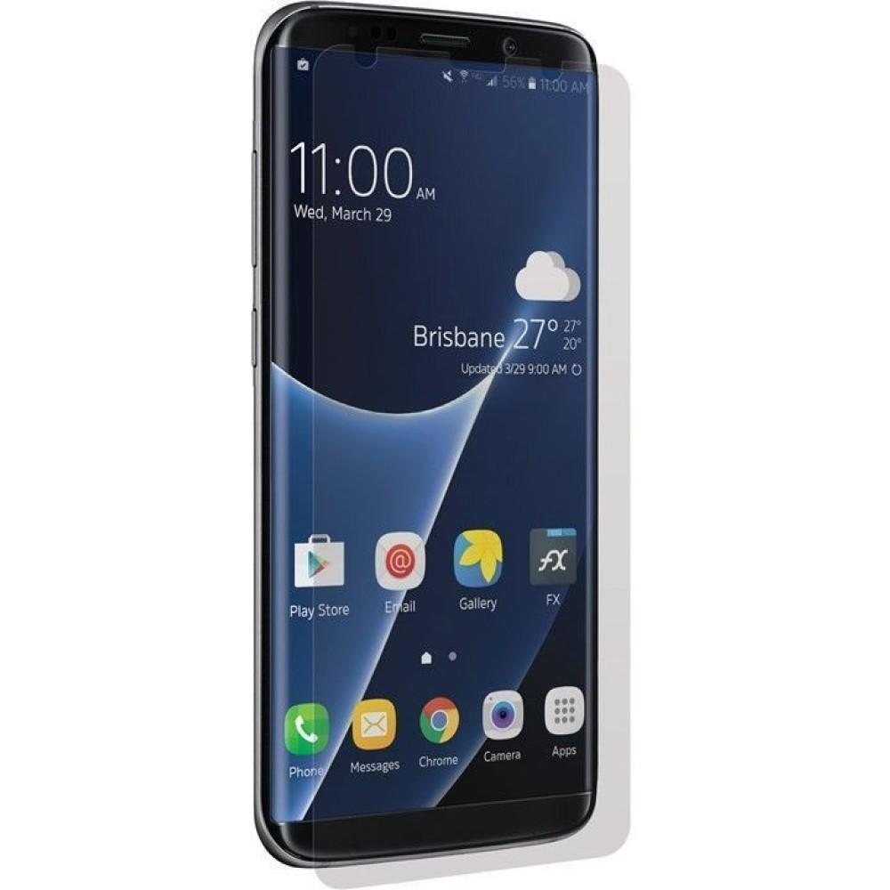 Vetro Protettivo CurvedGlass Nero per Samsung Galaxy S8 Plus - 3SIXT - I-SAM3S-GLASS-G8PBK-1
