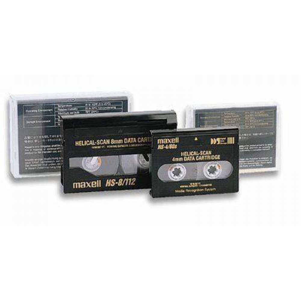 4 mm data cartridge 12 GB (125 m) DDS 3 - Maxell - ICA-DT4/125-1