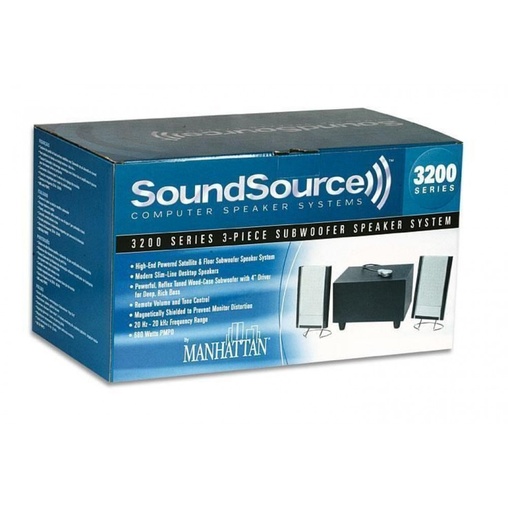 Speakers Sound Source 800 W  - Manhattan - ICC SP-680W-A-1