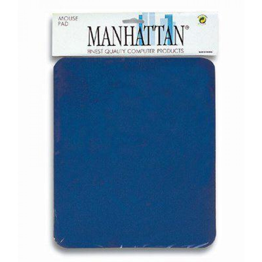 Tappetino per Mouse, 4 mm Manhattan Tappetino blu, 4 mm minimo 200 pezzi - Manhattan - ICA-MP 12-4-BL-1