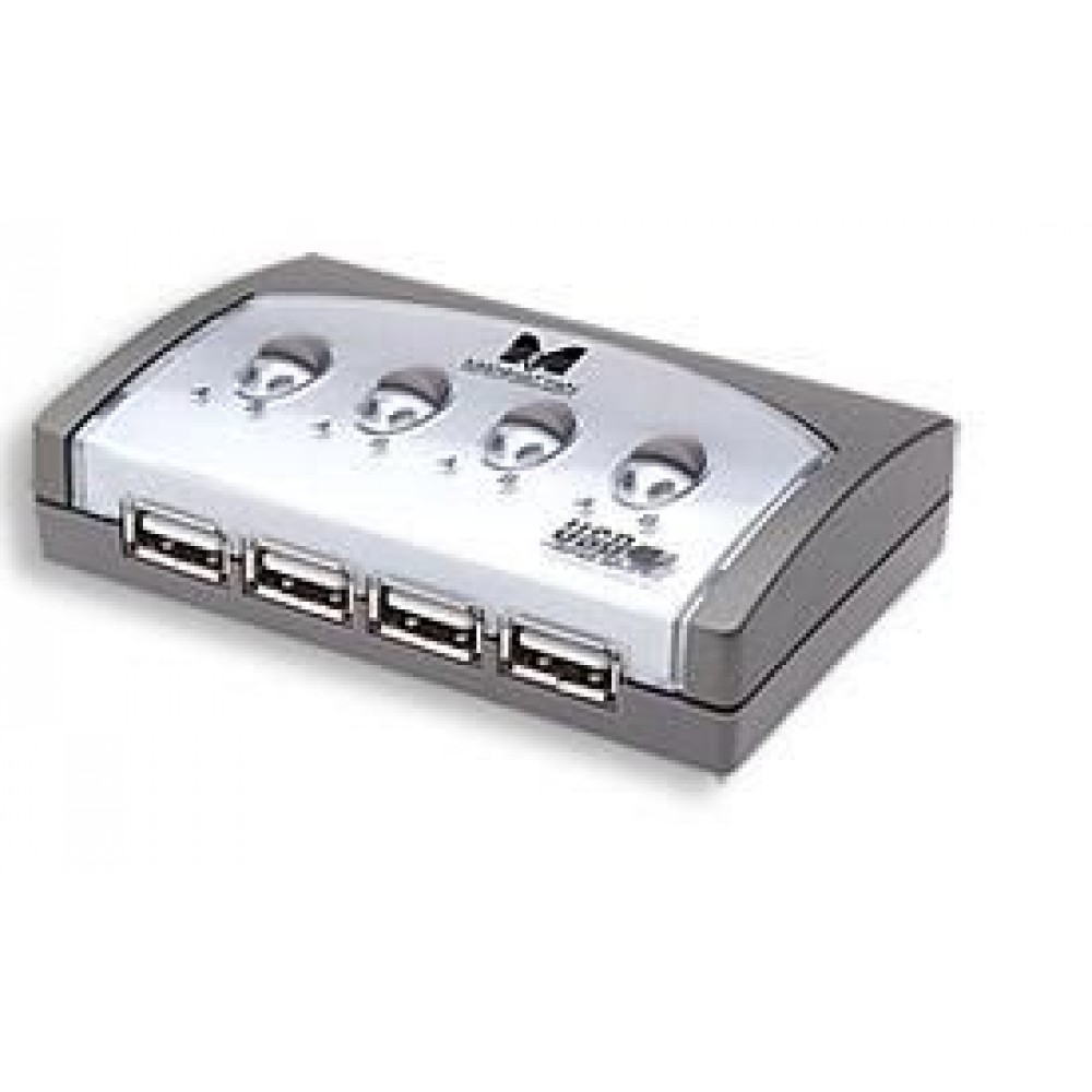 Switch USB 7 vie - Manhattan - IUSB-SW-MA-117-1