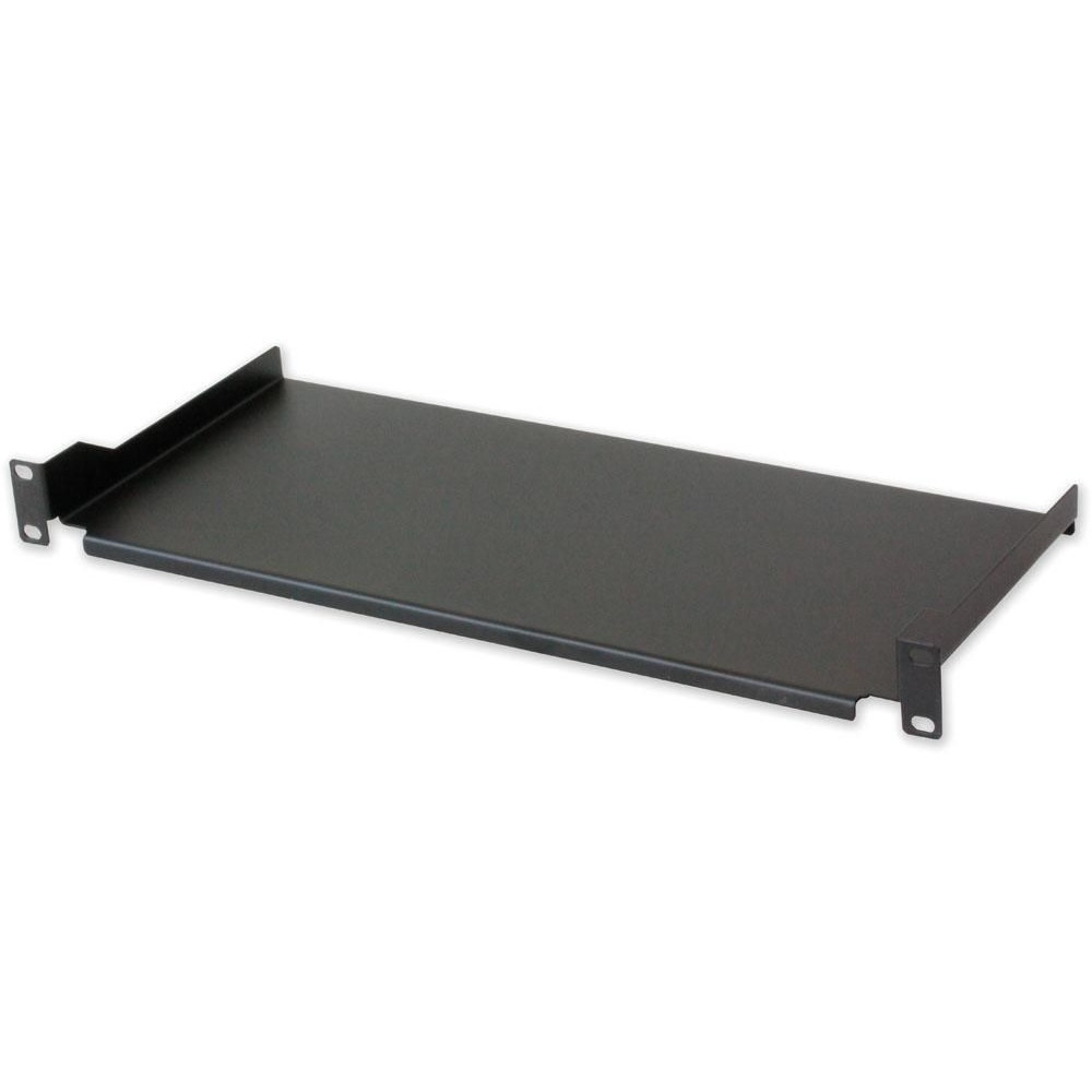 Mensola per Rack 19'' 200 mm 1U Nera 2 punti - Intellinet - I-CASE TRAY-4-BK