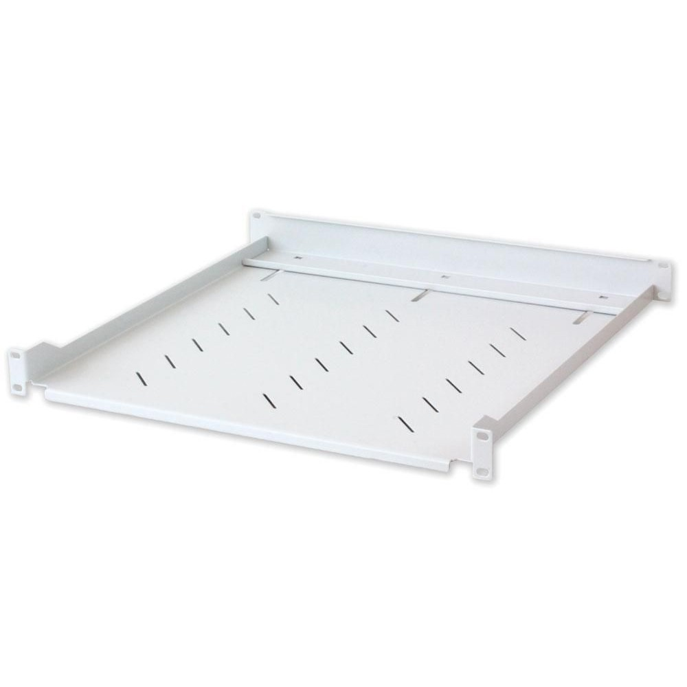 Mensola per Rack 19'' 600 mm 2U Grigia 4 punti - Intellinet - I-CASE TRAY-11-1