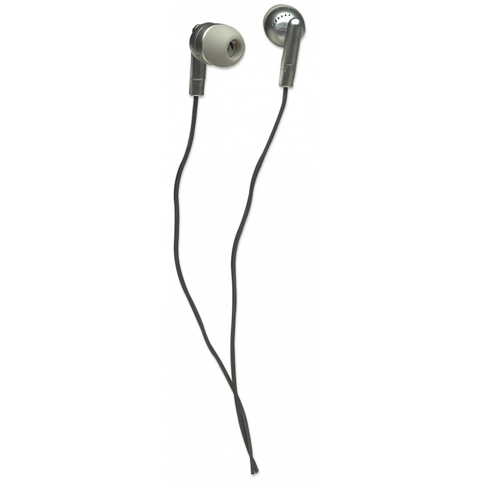 Auricolari Stereo in-ear Silver - Manhattan - SB-HP 2108-1