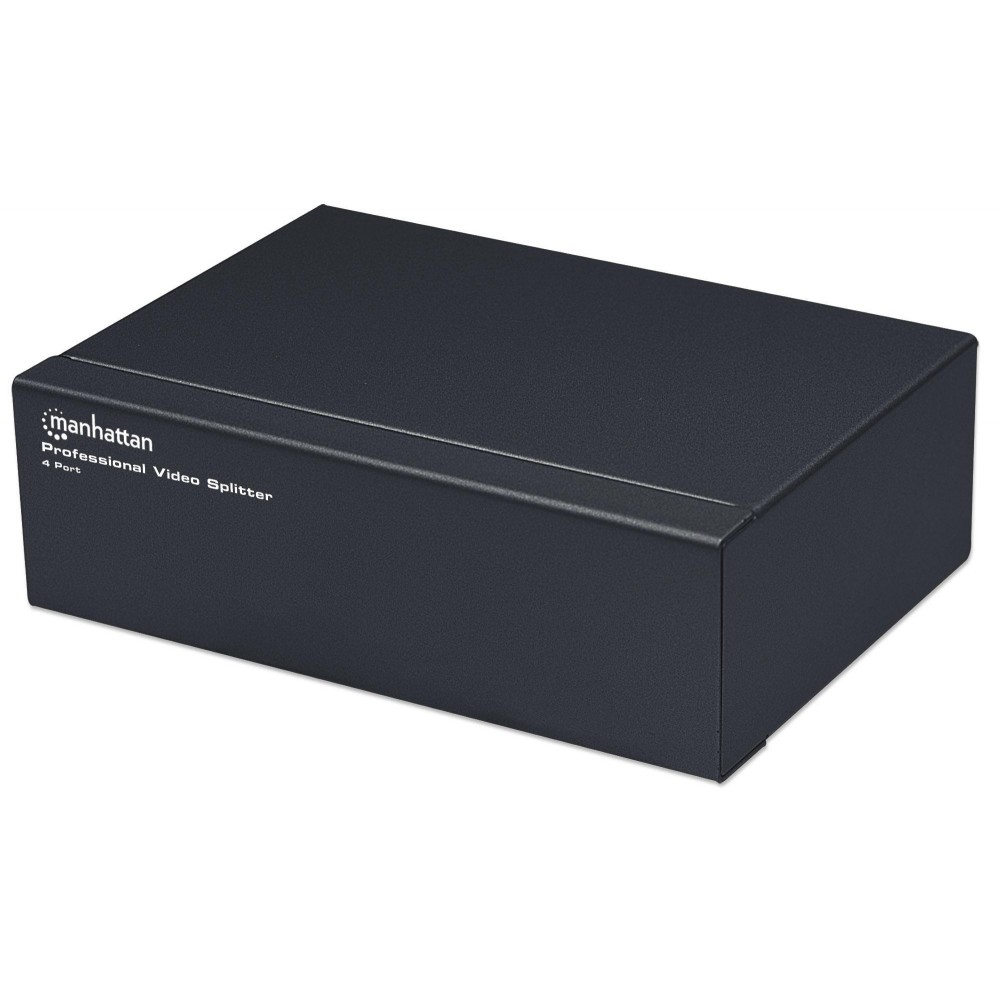 Video Splitter VGA Professionale 4 vie 350 MHz - Manhattan - IDATA IVIEW-MS4-1