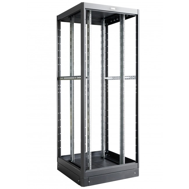 "Armadio Server Rack 19"" 800x800 42 Unita' Nero Open Frame - Intellinet - I-CASE EPX-428BK1-1"