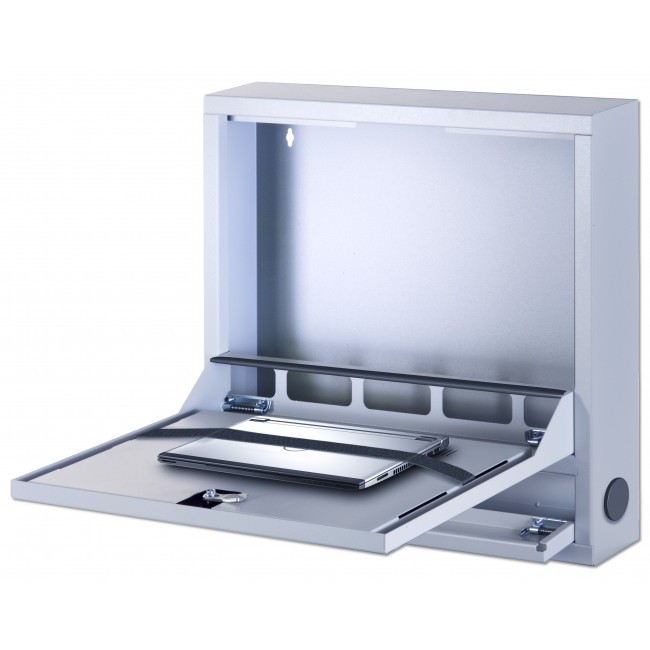 Box di Sicurezza per Notebook e Accessori per LIM Basic Grigio - Techly Professional - ICRLIM04-1