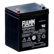 Batteria al Piombo 12V 5Ah (Faston 6,3mm) - Fiamm - IC-12FGH23