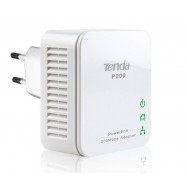 Kit 2 Mini Adattatori Powerline Ethernet 200 Mbps P200-Tenda-I-NET-P200