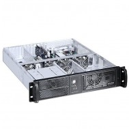 "Chassis Industriale da Rack 19"" 2U Nero - Techly - I-CASE IPC-2055"