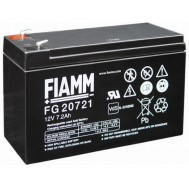 Batteria al Piombo 12V 7,2Ah (Faston 4,8mm) - Fiamm - IC-FG20721