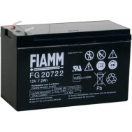 Batteria al Piombo 12V 7,2Ah (Faston 6,3mm) - Fiamm - IC-FG20722