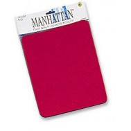 Tappetini Manhattan per Mouse, 6 mm, Rosso - Manhattan - ICA-MP 11-RE