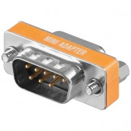 Gender Changer D-SUB 9 pin M/F Null Modem - Manhattan - IADAP 736-09N