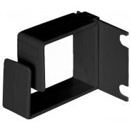 Anello Passacavi Laterale per Armadi Rack Nero - Intellinet - I-CASE RING-BKL