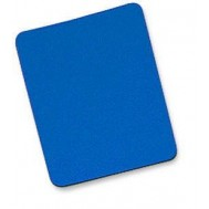 Tappetino per Mouse, 6 mm, Bulk, 25x22 cm, Blu - Manhattan - ICA-MP 10-BLUE