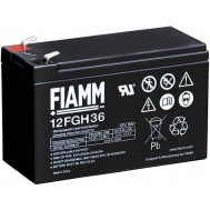 Batteria al Piombo 12V 9Ah (Faston 6,3mm) - Fiamm - IC-12FGH36