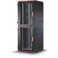"Armadio Server Rack 19"" 800x1000 2x20 Unita' Nero serie MultiSPACE"