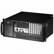 "Chassis Industriale Rack 19""/Desktop 4U Ultra Compatto Nero - Techly - I-CASE MP-P4HX-BLK6"