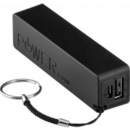 Carica Batterie Power Bank per Smartphone Tablet 2000mAh USB Nero - Goobay - I-CHARGE-2000BK