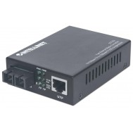 Media Converter Fast Ethernet Monomodale - Intellinet - I-ET SX-332