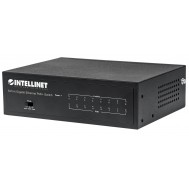 Switch Gigabit Ethernet 8 Porte PoE+ - Intellinet - I-SWHUB 8GP4