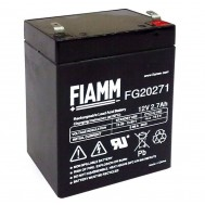 Batteria al Piombo 12V 2,7Ah (Faston 4,8mm) - Fiamm - IC-FG20271