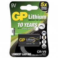 Blister 1 Batteria Litio 9V Longest Lasting  - Gp Batteries - IC-GP255076