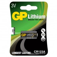 Blister 1 Batteria al Litio CR123A - Gp Batteries - IC-GP3702
