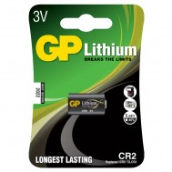 Blister 1 Batteria al Litio CR2 - Gp Batteries - IC-GP3703