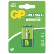 Batteria Greencell Zinco/Carbone 9V 6F22 - Gp Batteries - IC-GP5567