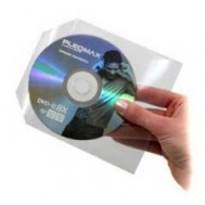 Buste Porta CD DVD in PPL 100 Micron Con Aletta 100 pz-Manhattan-ICA-CD2-C1