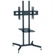 """Supporto a Pavimento con Mensole Trolley 2 TV LCD/LED/Plasma 37-70"""" - Techly - ICA-TR7"""