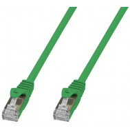 Cavo di Rete Patch in Rame Cat. 6A SFTP LSZH 10 m Verde - Techly Professional - ICOC LS6A-100-GRT