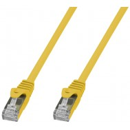 Cavo di Rete Patch in Rame Cat. 6A SFTP LSZH 10 m Giallo - Techly Professional - ICOC LS6A-100-YET
