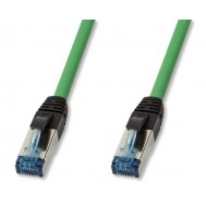 Cavo Patch Cat.6A S/FTP PUR IP20 5m Verde - Logilink - ICOC PUR6-050G