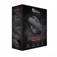 Mouse Gaming USB 3200dpi 6 Tasti Hannibal-2 GM-3006 Nero - White Shark - ICSB-GM3006BK