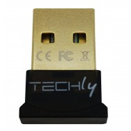 Adattatore USB Bluetooth 4.0 Dongle Class 1 + EDR - Techly - IDATA USB-BLT4TY