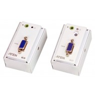 Estensore VGA/Audio Cat5 con piastra a parete 1280x1024 a 150m, VE157-Aten-IDATA VE-157