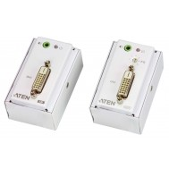 Estensore DVI/Audio Cat5 con piastra a parete 1920x1200 a 40m, VE607 - Aten - IDATA VE-607