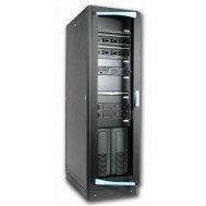 "Armadio Server Rack 19"" 600x1000 27 Unita' Nero serie Lite - Intellinet - I-CASE SVR-27LTBL"