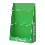 Espositore Stand da Banco in Plastica per Batterie GP - Gp Batteries - ISA-GP-04