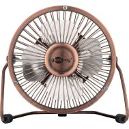 "Mini Ventilatore USB 4"" Bronzo - Goobay - IUSB-FAN4BZ"