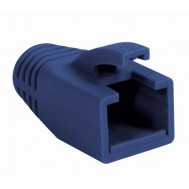 Copriconnettore per Plug RJ45 Cat.6 8mm Blu - Intellinet - IWP-CBOOT-BLU8