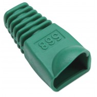 Copriconnettore per Plug RJ45 6.2mm Verde - Intellinet - IWP-CBOOT-VE