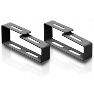 Anello Largo Passacavi per Armadi Rack Nero - Intellinet - I-CASE RING-MLXB
